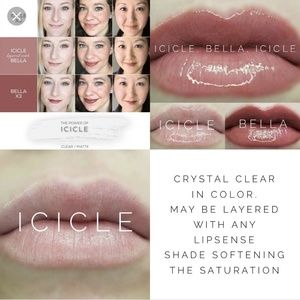 LipSense By SeneGence Icicle Color Factory New